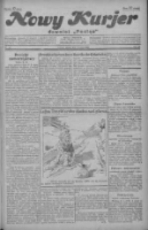 """Nowy Kurjer: dawniej """"Postęp"""" 1929.03.01 R.40 Nr50"""