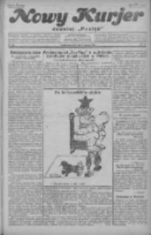 """Nowy Kurjer: dawniej """"Postęp"""" 1929.03.07 R.40 Nr55"""