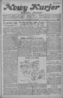 """Nowy Kurjer: dawniej """"Postęp"""" 1929.03.08 R.40 Nr56"""