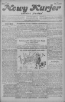 """Nowy Kurjer: dawniej """"Postęp"""" 1929.03.10 R.40 Nr58"""