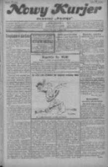 """Nowy Kurjer: dawniej """"Postęp"""" 1929.03.13 R.40 Nr60"""
