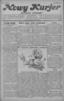 """Nowy Kurjer: dawniej """"Postęp"""" 1929.03.15 R.40 Nr62"""