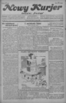 """Nowy Kurjer: dawniej """"Postęp"""" 1929.03.16 R.40 Nr63"""