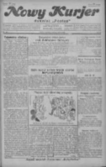 """Nowy Kurjer: dawniej """"Postęp"""" 1929.03.17 R.40 Nr64"""