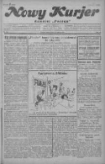 """Nowy Kurjer: dawniej """"Postęp"""" 1929.03.19 R.40 Nr65"""