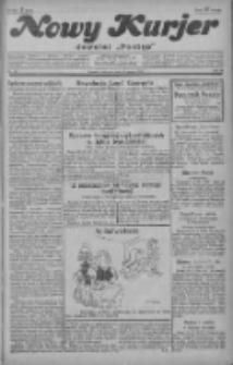 """Nowy Kurjer: dawniej """"Postęp"""" 1929.03.21 R.40 Nr67"""