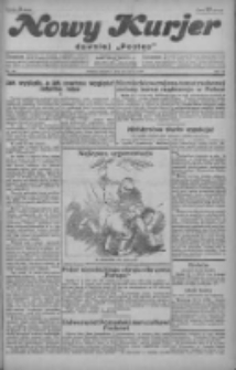 """Nowy Kurjer: dawniej """"Postęp"""" 1929.03.28 R.40 Nr73"""