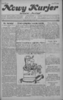 """Nowy Kurjer: dawniej """"Postęp"""" 1929.03.29 R.40 Nr74"""