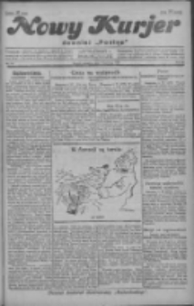 """Nowy Kurjer: dawniej """"Postęp"""" 1929.04.07 R.40 Nr81"""