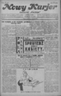 """Nowy Kurjer: dawniej """"Postęp"""" 1929.04.09 R.40 Nr82"""