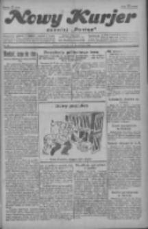 """Nowy Kurjer: dawniej """"Postęp"""" 1929.04.11 R.40 Nr84"""