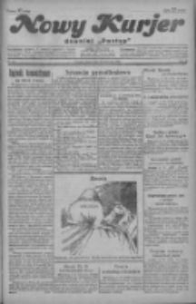 """Nowy Kurjer: dawniej """"Postęp"""" 1929.04.12 R.40 Nr85"""