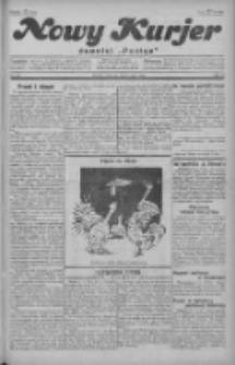 """Nowy Kurjer: dawniej """"Postęp"""" 1929.05.09 R.40 Nr107"""
