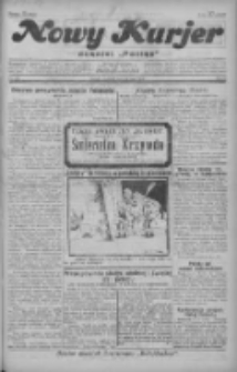 """Nowy Kurjer: dawniej """"Postęp"""" 1929.05.12 R.40 Nr109"""