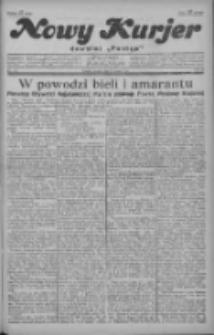 """Nowy Kurjer: dawniej """"Postęp"""" 1929.05.17 R.40 Nr113"""