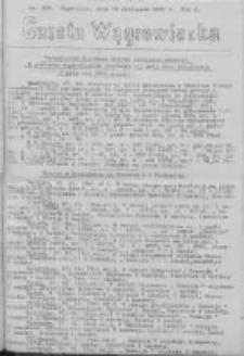Gazeta Wągrowiecka: pismo dla ziemi pałuckiej 1930.11.18 R.10 Nr229