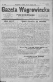 Gazeta Wągrowiecka: pismo dla ziemi pałuckiej 1930.12.13 R.10 Nr250