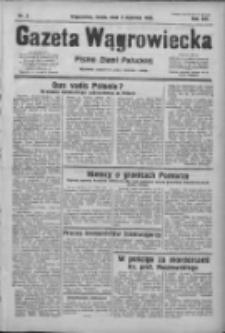 Gazeta Wągrowiecka: pismo ziemi pałuckiej 1933.01.04 R.13 Nr3