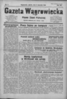 Gazeta Wągrowiecka: pismo ziemi pałuckiej 1933.01.06 R.13 Nr5