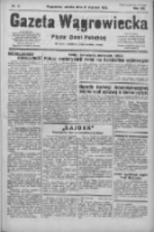 Gazeta Wągrowiecka: pismo ziemi pałuckiej 1933.01.21 R.13 Nr17