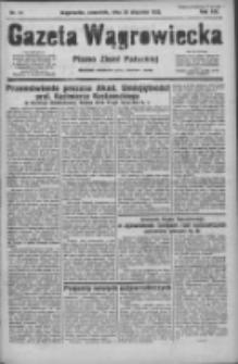 Gazeta Wągrowiecka: pismo ziemi pałuckiej 1933.01.26 R.13 Nr21