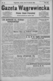 Gazeta Wągrowiecka: pismo ziemi pałuckiej 1933.01.28 R.13 Nr23