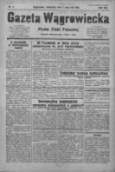 Gazeta Wągrowiecka: pismo ziemi pałuckiej 1933.01.01 R.13 Nr1
