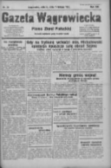Gazeta Wągrowiecka: pismo ziemi pałuckiej 1933.02.11 R.13 Nr34
