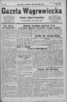 Gazeta Wągrowiecka: pismo ziemi pałuckiej 1933.02.16 R.13 Nr38