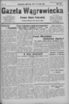 Gazeta Wągrowiecka: pismo ziemi pałuckiej 1933.02.19 R.13 Nr41