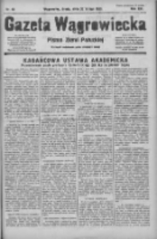Gazeta Wągrowiecka: pismo ziemi pałuckiej 1933.02.22 R.13 Nr43