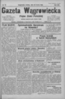 Gazeta Wągrowiecka: pismo ziemi pałuckiej 1933.03.25 R.13 Nr70