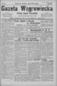 Gazeta Wągrowiecka: pismo ziemi pałuckiej 1933.03.26 R.13 Nr71