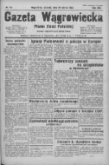 Gazeta Wągrowiecka: pismo ziemi pałuckiej 1933.03.28 R.13 Nr72