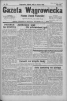 Gazeta Wągrowiecka: pismo ziemi pałuckiej 1933.03.31 R.13 Nr75