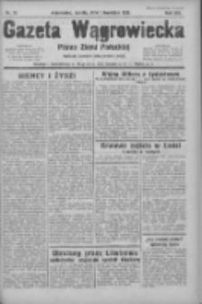 Gazeta Wągrowiecka: pismo ziemi pałuckiej 1933.04.01 R.13 Nr76