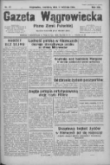 Gazeta Wągrowiecka: pismo ziemi pałuckiej 1933.04.02 R.13 Nr77
