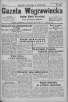 Gazeta Wągrowiecka: pismo ziemi pałuckiej 1933.04.11 R.13 Nr84