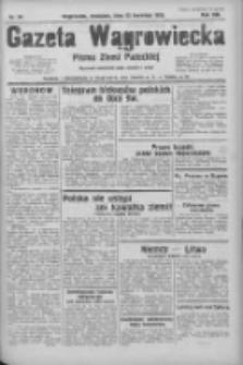 Gazeta Wągrowiecka: pismo ziemi pałuckiej 1933.04.23 R.13 Nr94