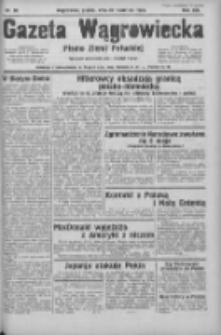 Gazeta Wągrowiecka: pismo ziemi pałuckiej 1933.04.28 R.13 Nr98