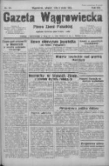 Gazeta Wągrowiecka: pismo ziemi pałuckiej 1933.05.02 R.13 Nr101