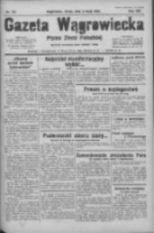 Gazeta Wągrowiecka: pismo ziemi pałuckiej 1933.05.03 R.13 Nr102
