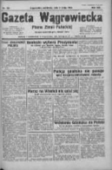 Gazeta Wągrowiecka: pismo ziemi pałuckiej 1933.05.07 R.13 Nr105