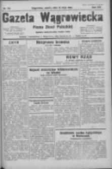 Gazeta Wągrowiecka: pismo ziemi pałuckiej 1933.05.13 R.13 Nr110