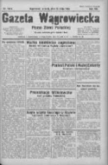 Gazeta Wągrowiecka: pismo ziemi pałuckiej 1933.05.23 R.13 Nr118A