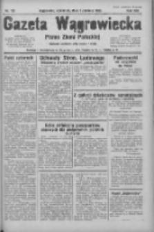 Gazeta Wągrowiecka: pismo ziemi pałuckiej 1933.06.01 R.13 Nr125