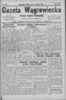Gazeta Wągrowiecka: pismo ziemi pałuckiej 1933.06.02 R.13 Nr126