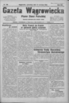 Gazeta Wągrowiecka: pismo ziemi pałuckiej 1933.06.15 R.13 Nr136
