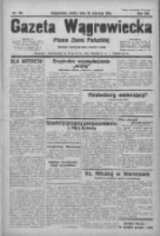 Gazeta Wągrowiecka: pismo ziemi pałuckiej 1933.06.28 R.13 Nr146