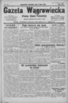 Gazeta Wągrowiecka: pismo ziemi pałuckiej 1933.07.09 R.13 Nr155